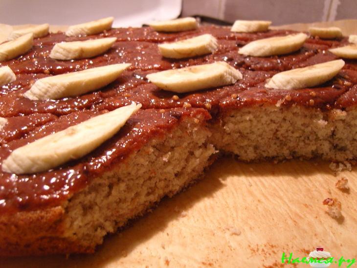 считаешь, банановый пирог без масла рецепт с фото можете