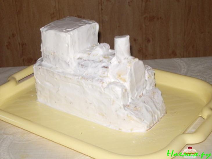 Торт Паровоз ЛавТортики *ский торт Паровоз со съедобными фигурками из мастики: паровоз и железная дорога, которых можно съесть или оставить на долгую память в виде фото