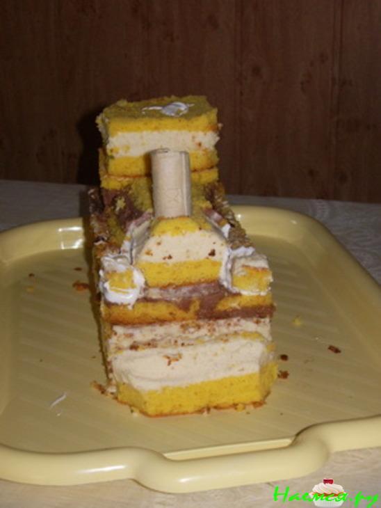 Торт паровозик томас пошаговый рецепт с фотографиями